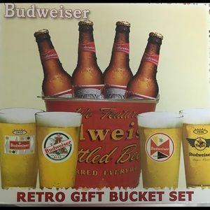Bucket Set - Budweiser 🍺